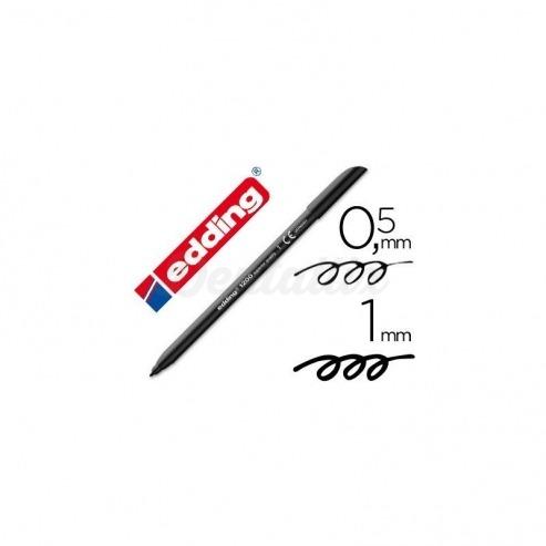 Rotulador Edding 1200  negro nº 1 Img: 201807281