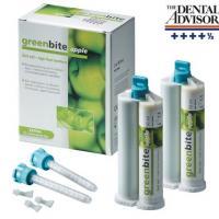 Greenbite Apple - Material de registro de mordidas - 8 cartuchos duplos de 50 ml Img: 202007111