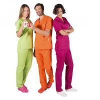 Pijama para Clínica - Várias Cores-Tamanho L - C/ 116 Img: 202006201