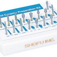 Kit de Corte de Restauração Cerâmica (17 Fresas Diamantadas.) Img: 202009121