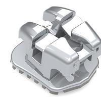 "Easyclip+ Bracket Auto-Ligante Passivo Damon .022"" Baixo Torque (5u.) -LL1 -11°T 2°A. Img: 202004041"