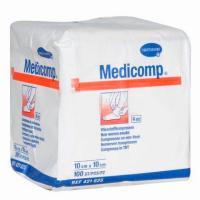 MEDICOMP GASAS 10x10cm. (1x100u.) cx50u