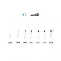 Fresa H7 carburo tungsteno para FG (5u) Img: 201807031
