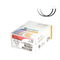 Sutura seda TC-15 con doble aguja (50u)  (TC-15 4/0 50u.) Img: 201902091