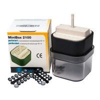 MiniBox 2100: Caixa de Endodontia com Módulo e Placas (24 orifícios)