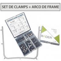 SET DE CLAMPS + ARCO DE FRAME BADER Img: 201807031