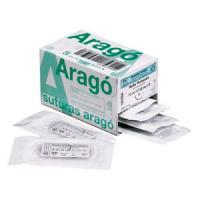 Hilo de sutura seda Arago