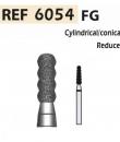 Fresas de diamante 6054 Reductor cilíndrico/cónico F.G. turbina (5u.) (6054-016 F ROJO) Img: 201807031
